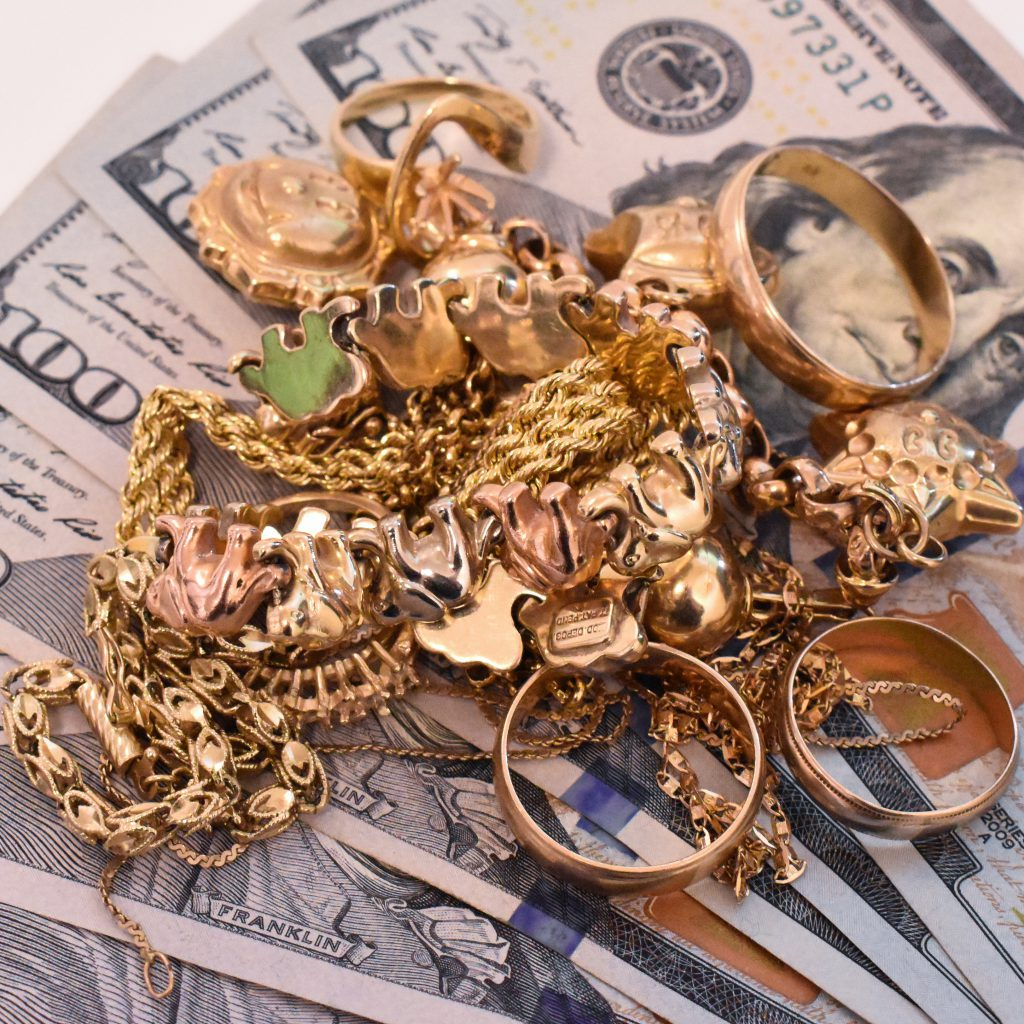 we buy gold jewelry, we buy gold coins, we pay cash for your gold