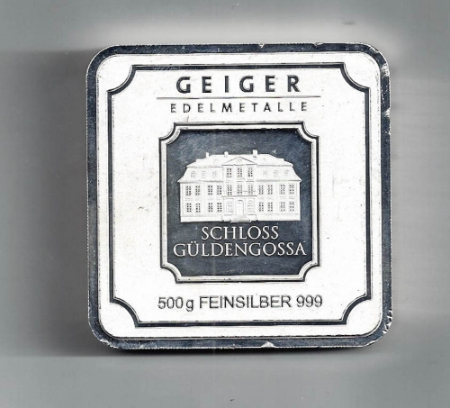 Fine Silver Geiger Bullion
