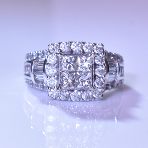 White Gold Diamond Ring Kay Jewelers