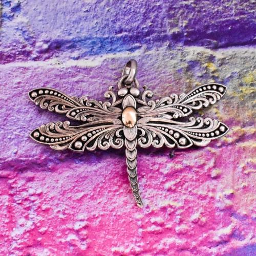 Vintage Gist Sterling Silver Pendant