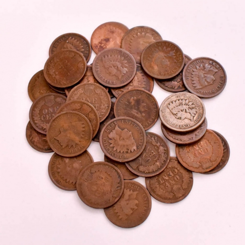 Indian & Wheat Pennies
