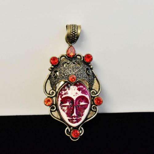 Vintage Goddess Sajen Pendant