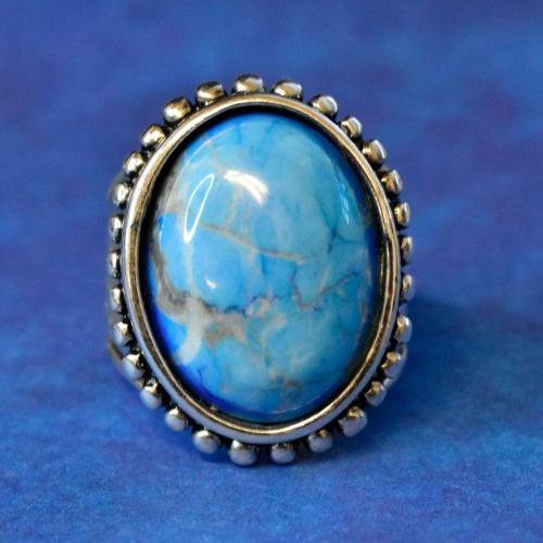 Vintage Turquoise Navajo Ring