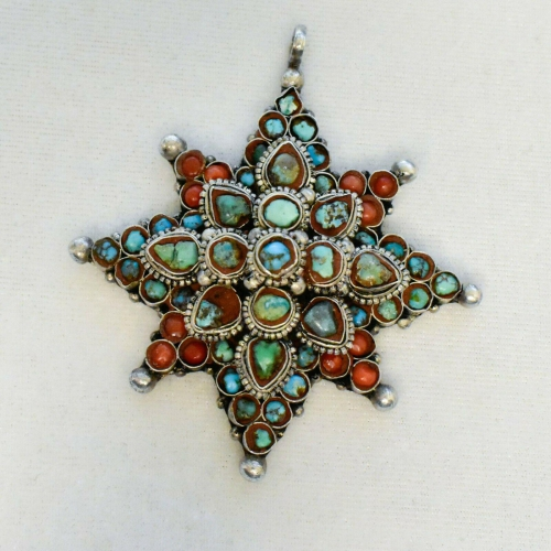 Old Pawn Turquoise Pendant